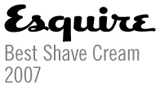 Esquire - Best Shave Cream 2007